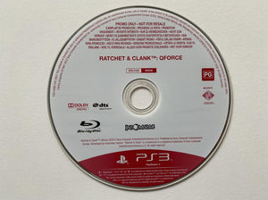Ratchet And Clank Qforce Promo Disc