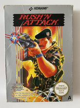 Load image into Gallery viewer, Rush'n Attack Boxed Nintendo NES