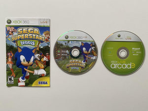 Sega Superstars Tennis and Xbox Live Arcade Compilation Disc