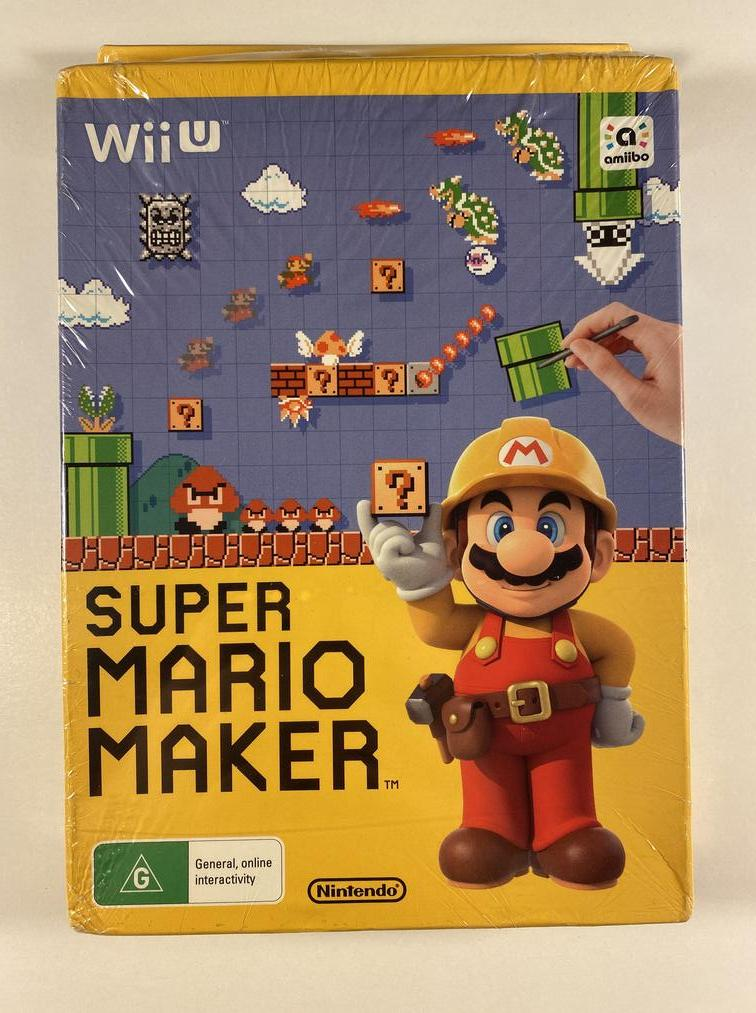 Super Mario Maker Limited Edition Nintendo Wii U