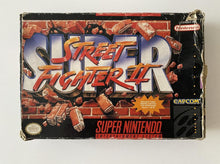 Load image into Gallery viewer, Super Street Fighter II Boxed Nintendo SNES