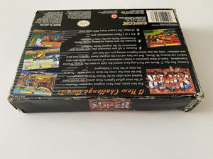 Super Street Fighter II Boxed