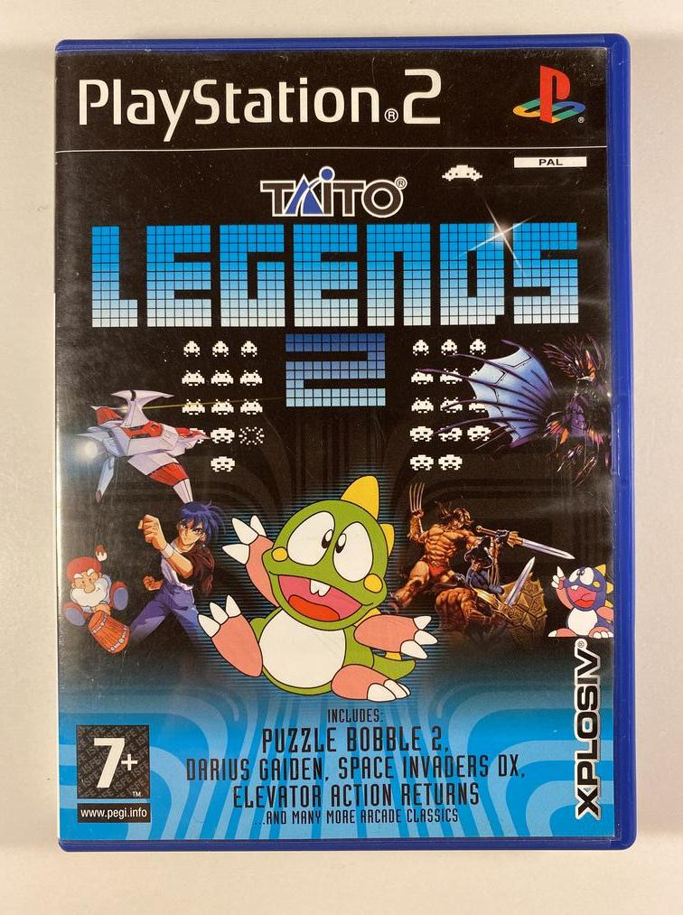 Taito Legends 2 Sony PlayStation 2 PAL