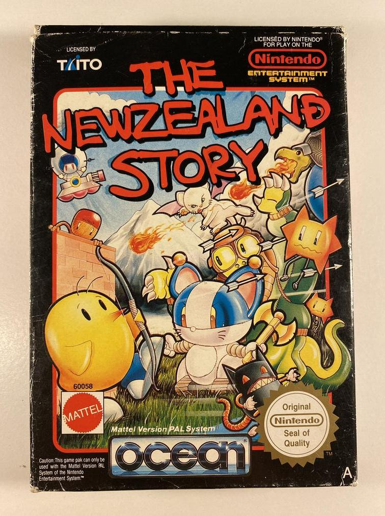 The Newzealand Story Boxed Nintendo NES