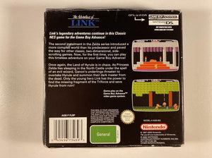 Zelda II The Adventure of Link Box and Manual Only No Game
