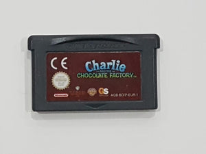 Charlie And The Chocolate Factory Nintendo Game Boy Advance