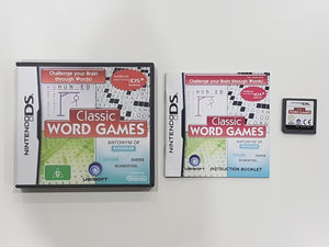 Classic Word Games Nintendo DS