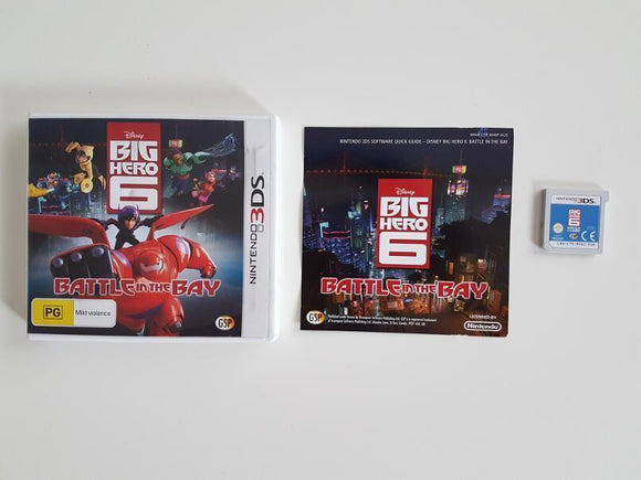 Disney Big Hero 6 Battle In The Bay Nintendo 3DS