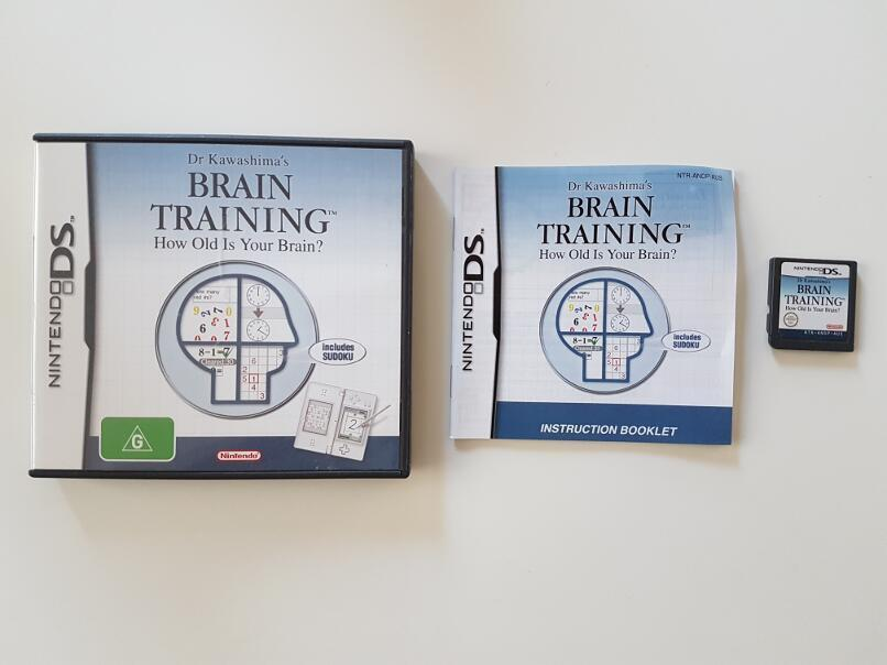Dr Kawashima's Brain Training How Old Is Your Brain? Nintendo DS