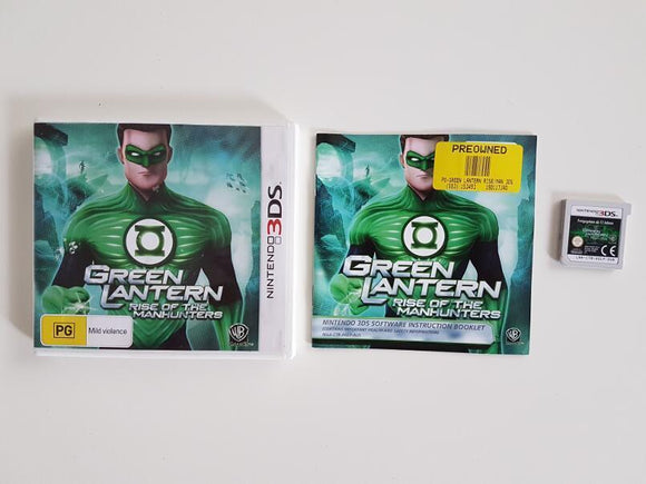 Green Lantern Rise Of The Manhunters Nintendo 3DS
