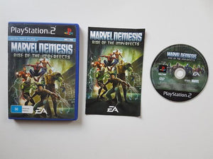Marvel Nemesis Rise Of The Imperfects Sony PlayStation 2