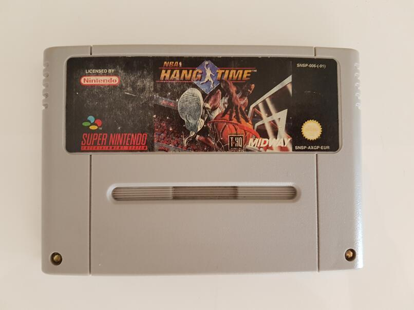 NBA Hang Time Nintendo SNES