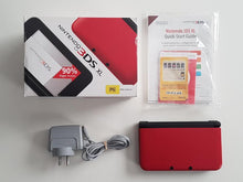 Load image into Gallery viewer, Nintendo 3DS XL Console Boxed - Red / Black Nintendo 3DS