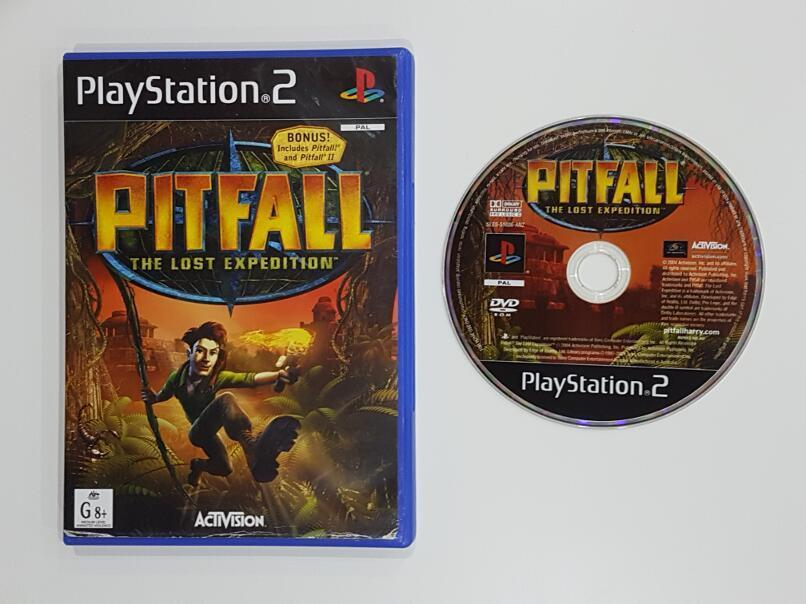 Pitfall The Lost Expedition Sony PlayStation 2