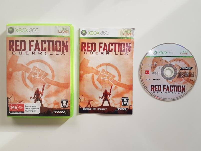Red Faction Guerilla Microsoft Xbox 360