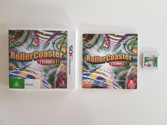 Rollercoaster Tycoon 3D Nintendo 3DS