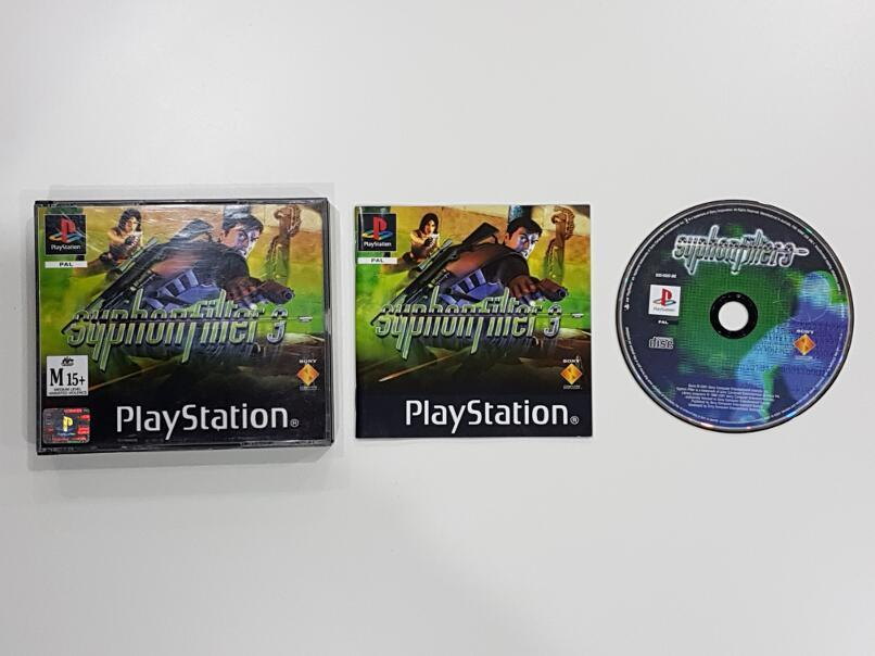 Syphon Filter 3 (Double Jewel Case) Sony PlayStation 1