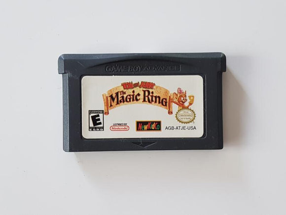 Tom And Jerry The Magic Ring Nintendo Game Boy Advance