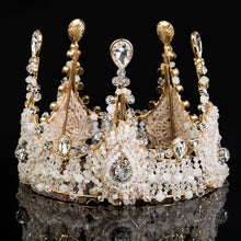 Rhinestone and Pearl Crown