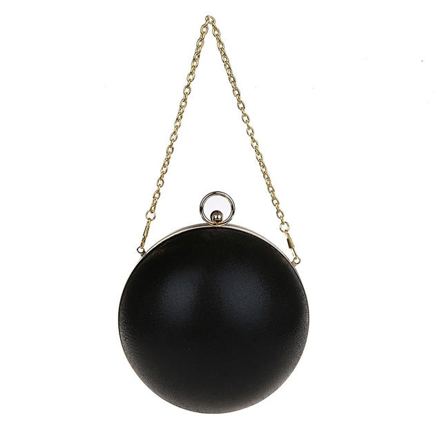Pearl Ball Shape Evening Bag