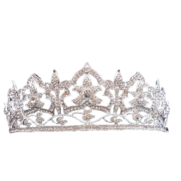 The Oriental Circlet Ruby and Diamond Tiara Replica - The Royal Look For Less