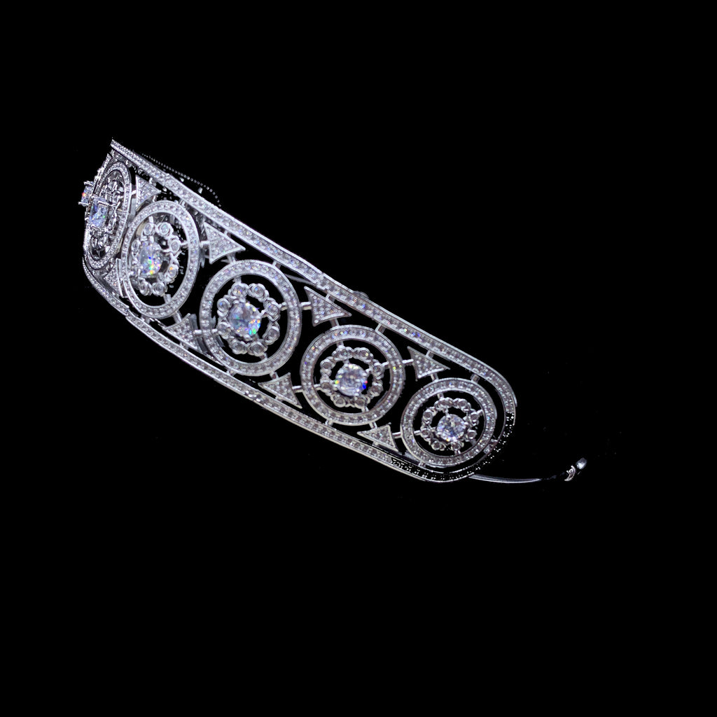 'Sirena' Crystal Tiara - The Royal Look For Less