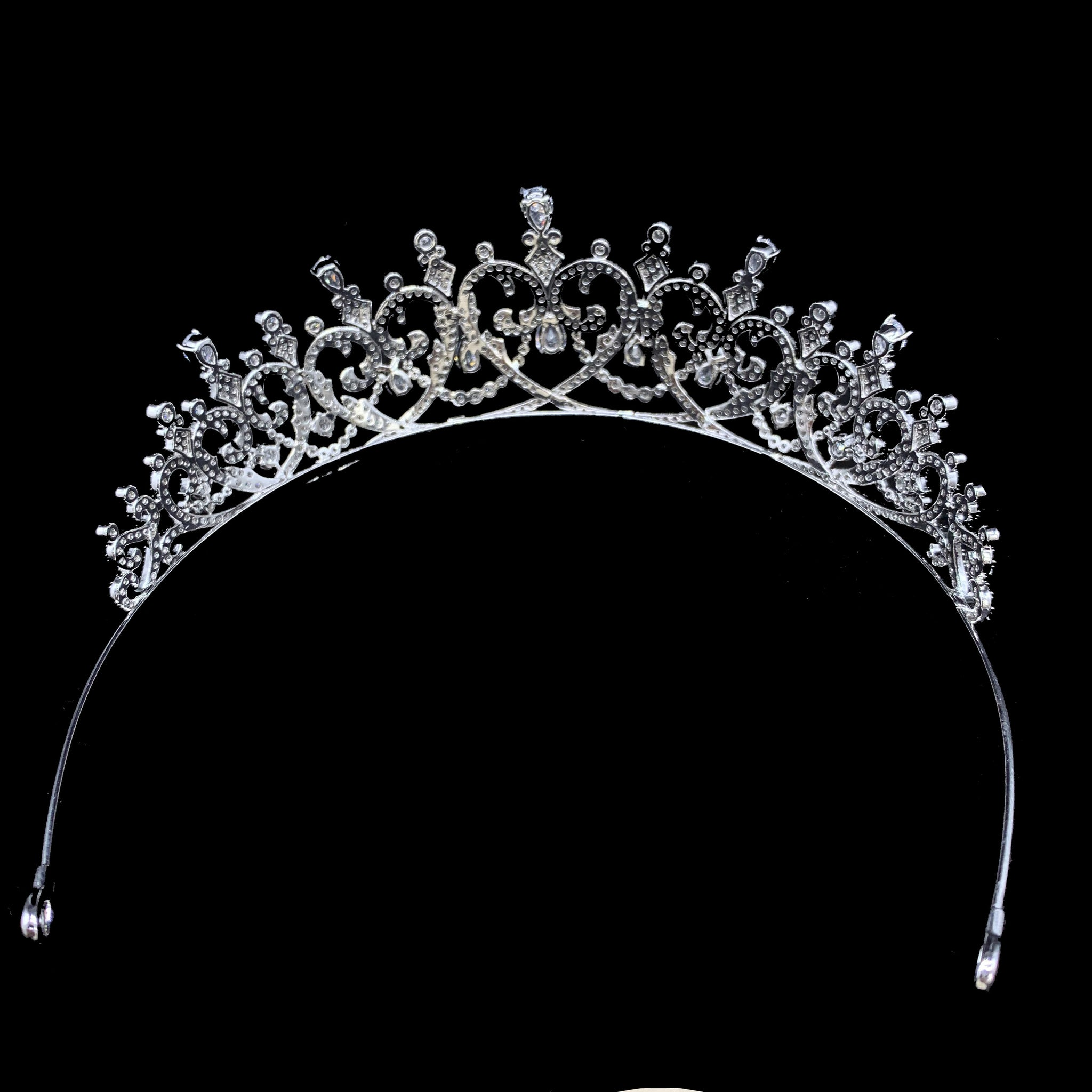 'Victoria Melita' Heart Tiara - The Royal Look For Less