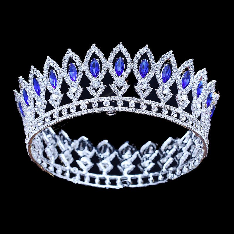 'Manchester' Rhinestone Tiara - The Royal Look For Less