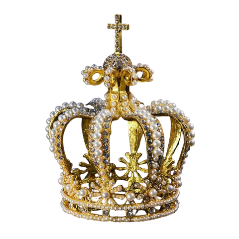 The Crown of the Queen Consort of Bavaria Replica - The Royal Look For Less