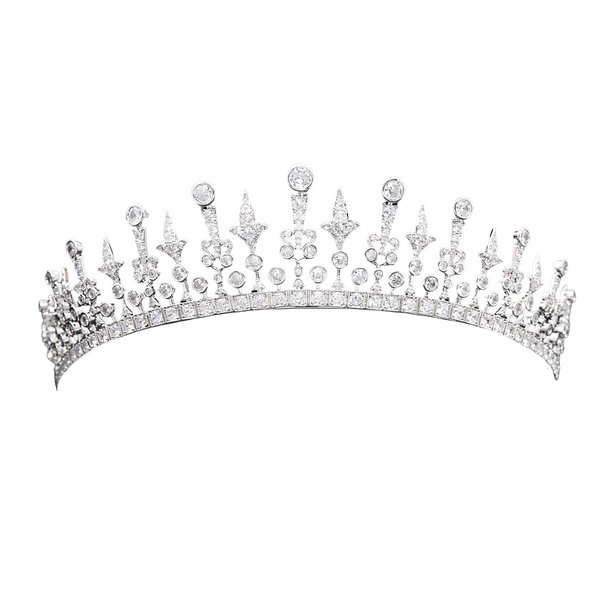 Queen Mary's Fringe Tiara Replica - The Royal Look For Less