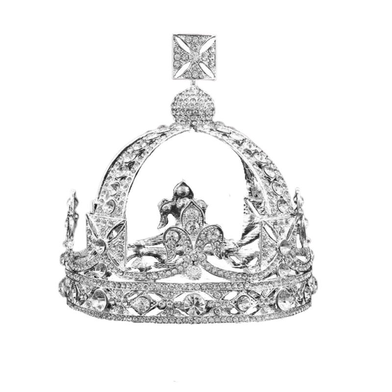 Queen Victoria's Small Diamond Crown Replica - The Royal Look For Less