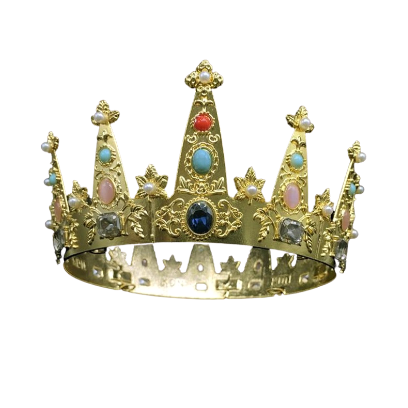 Norwegian Crown Prince's Coronet Replica - The Royal Look For Less