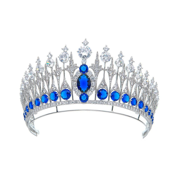 Queen Emma of the Netherlands' Sapphire Parure Tiara - The Royal Look For Less