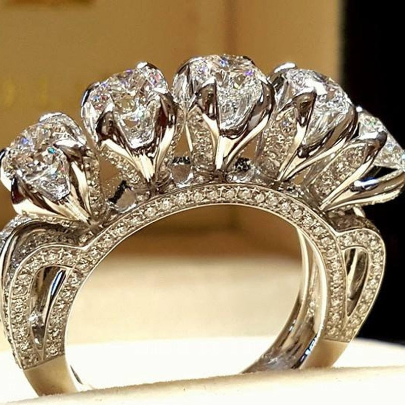 'Verity' AAA Cubic Zircon Ring - The Royal Look For Less