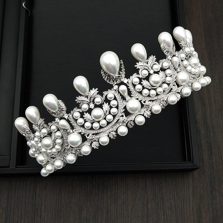 Empress Eugénie Pearl Tiara Replica - The Royal Look For Less