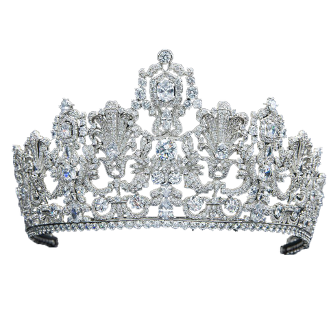 The Luxembourg Empire Tiara - The Royal Look For Less