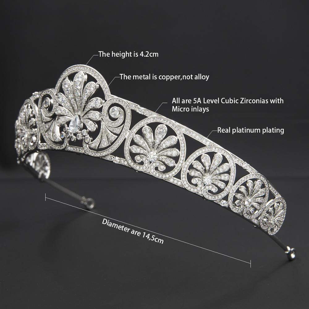 The Honeysuckle Royal Replica Tiara