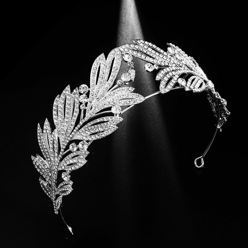 Princess Marie of Greece Olive Leaf Tiara - The Royal Look For Less