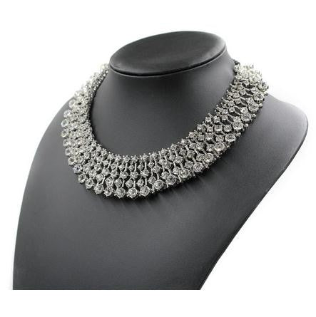 'Charm' Choker Necklace - The Royal Look For Less