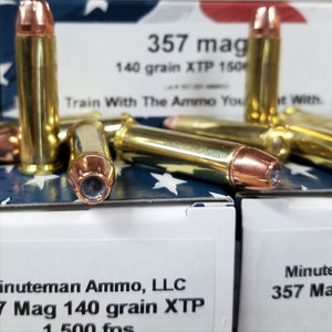 357 Magnum 140 grain XTP @ 1,400 fps. 50 rounds.