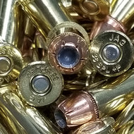 38 Special +P, 125 grain XTP. @ 1,020 fps. 50 rounds.