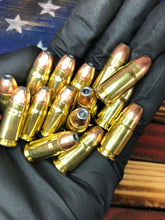 357 Sig 124 Grain JHP @ 1,455 fps. 50 rounds.