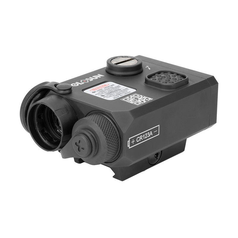 Holosun LS321 IR illuminator, Visible and IR laser