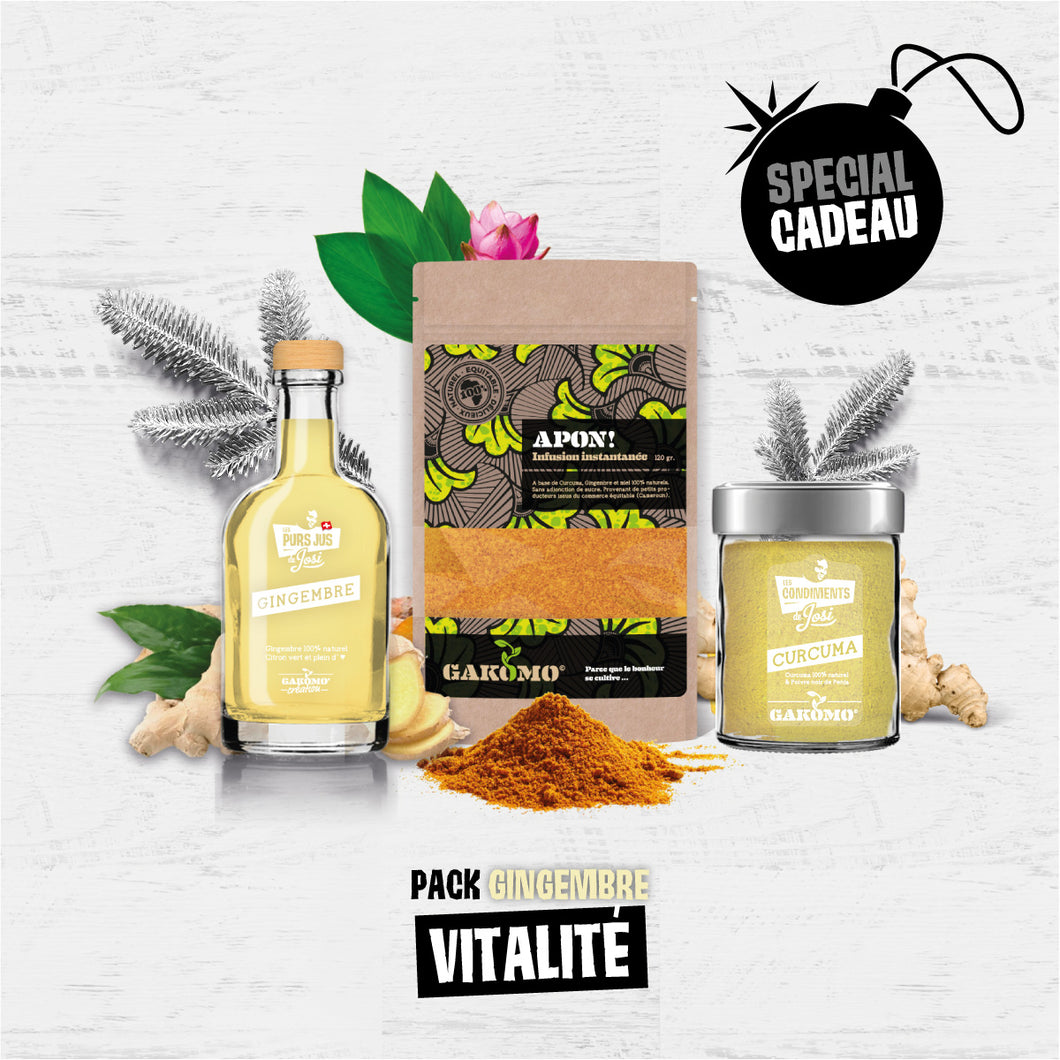 Pack Vitalité Gingembre