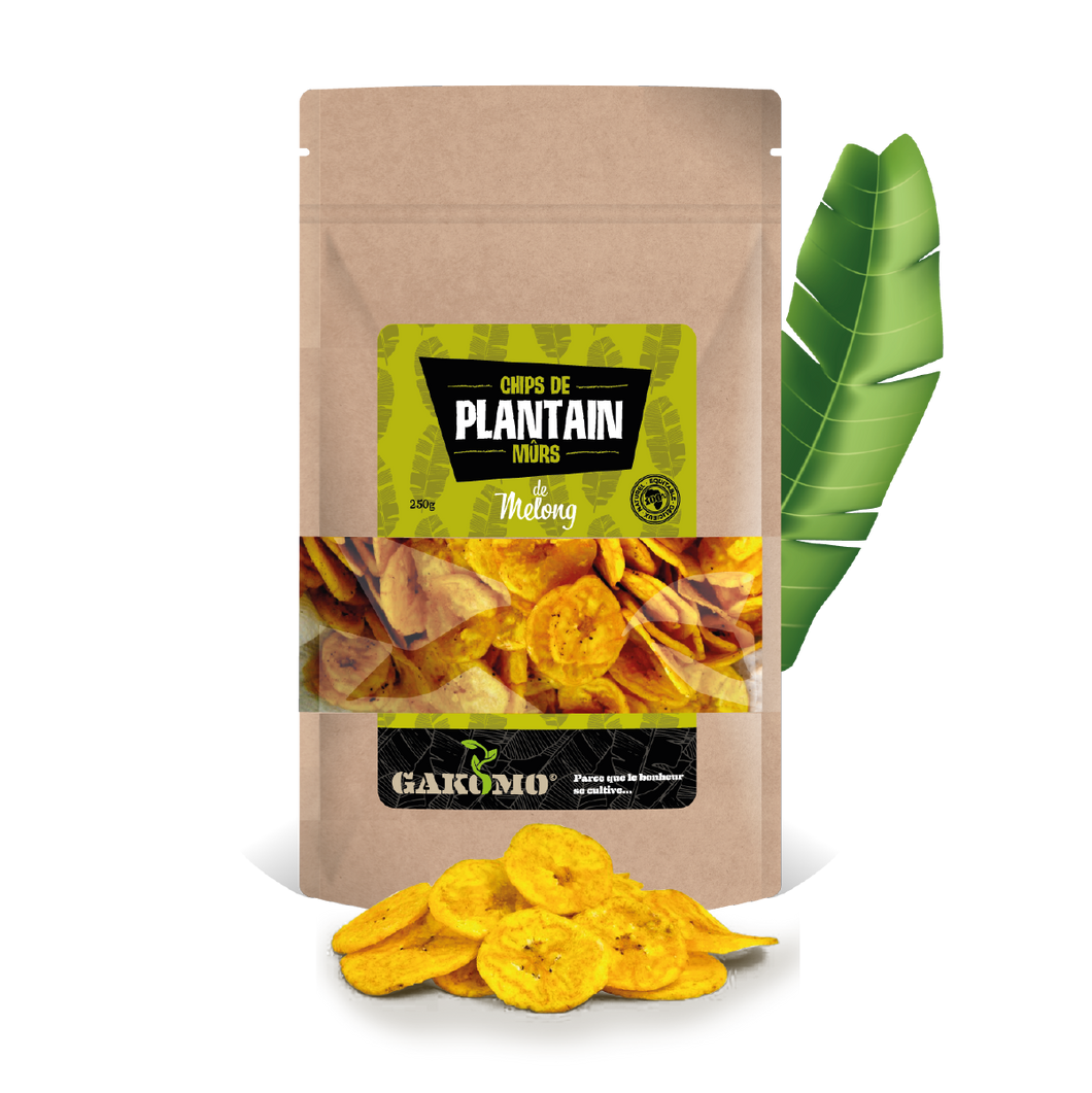 Chips de Plantain Mûrs