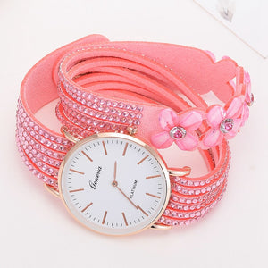 Fashion Elegant Flowers Watch