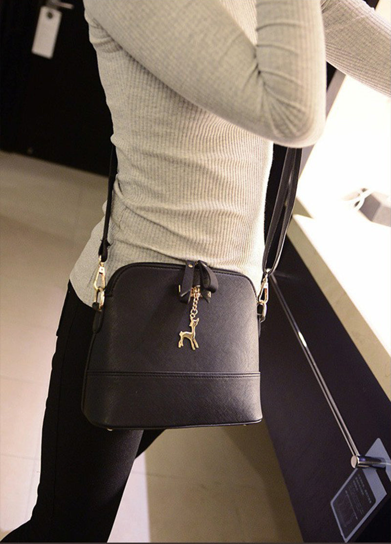 Vintage Nubuck Leather Women Bag