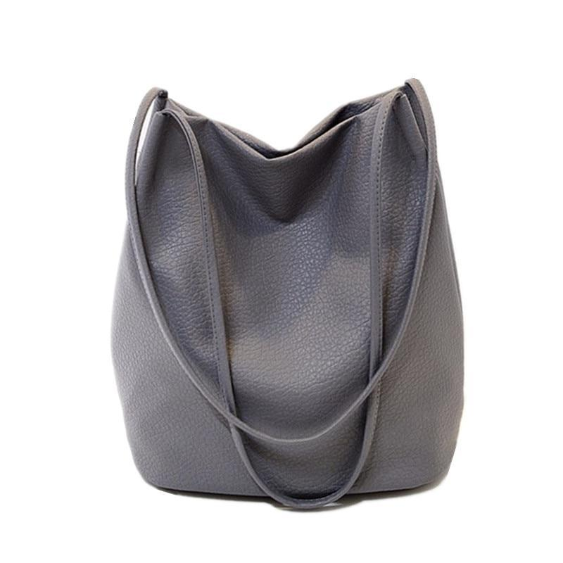 Women Leather Handbag Big Tote