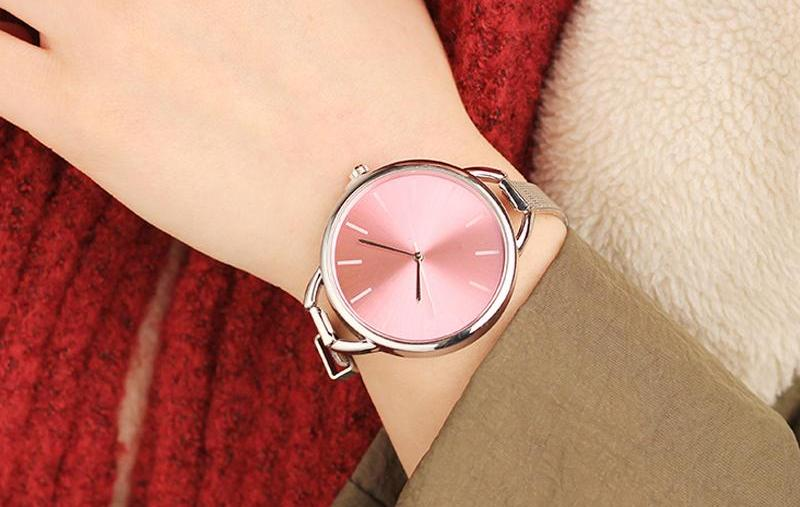 Luxury Lady Watch w/ Elegant Big Dial