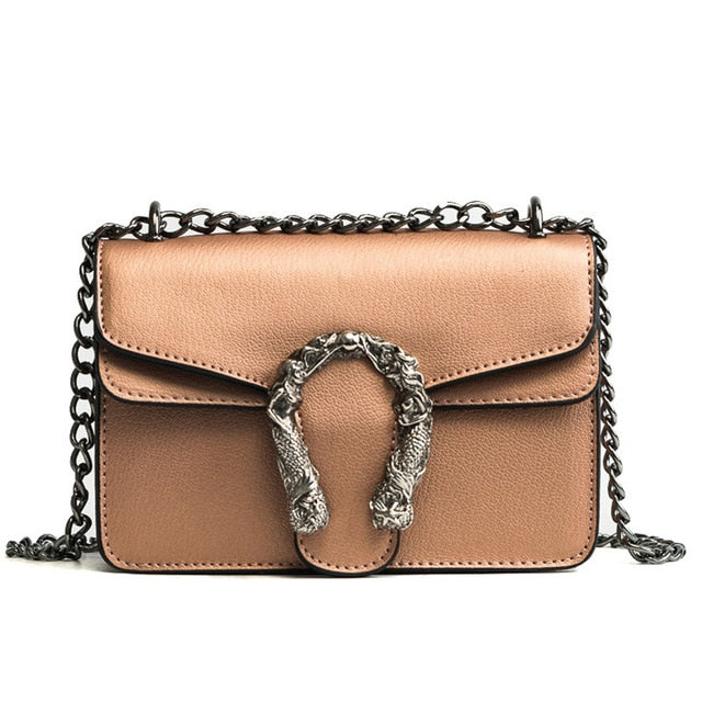 Fashion Women Bag With Vintage Chain